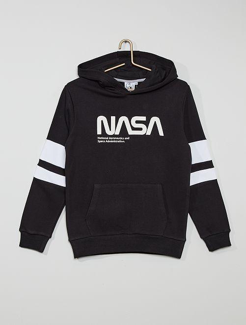 Sweat à capuche 'NASA'                                         noir