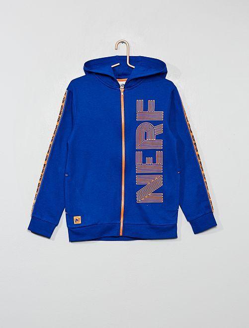 Sweat à capuche 'Nerf'                                         bleu