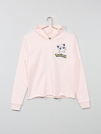 9355fa6848706 Fille 10-18 ans - Sweat à capuche  Pokemon  - Kiabi