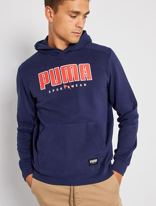 Sweat à capuche 'Puma'                             marine
