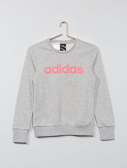 Sweat 'Adidas'                     gris Fille adolescente