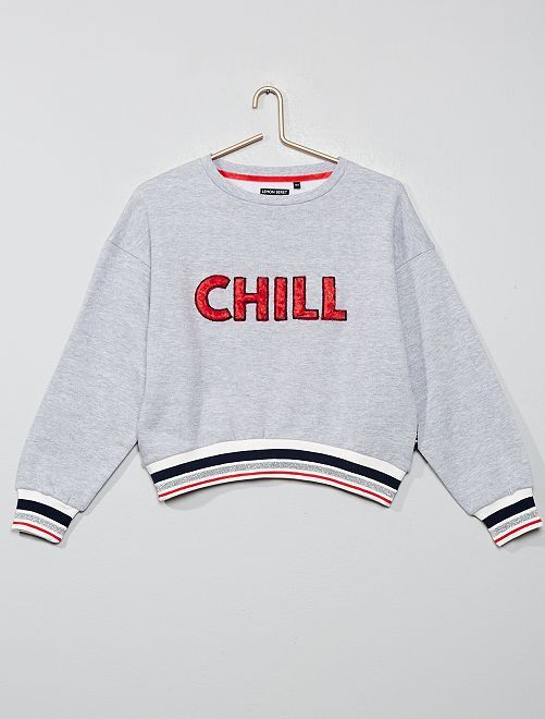 Sweat 'Chill'                                         gris