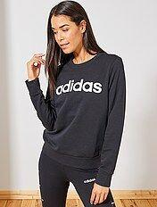 Veste, sweat de sport Femme | noir | Kiabi