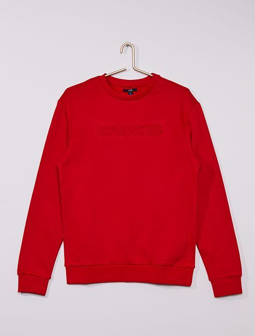Sweat col rond 'Advanced apparel'                                                                 ROUGE