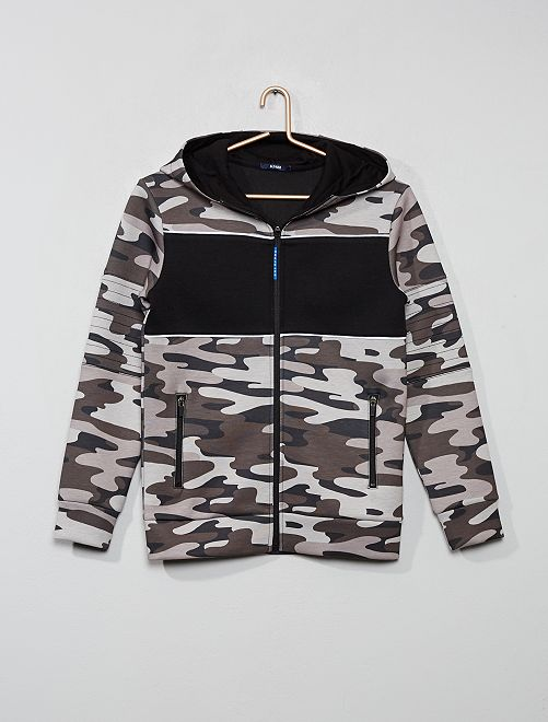 Sweat color block                                                                 camouflage
