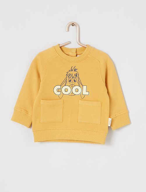 Sweat 'Disney' éco-conçu                                                     jaune