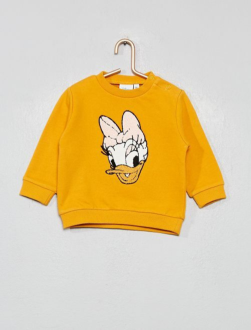 Sweat 'Disney'                                         jaune