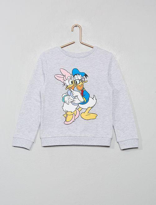 Sweat 'Donald et Daisy'                                                                 gris