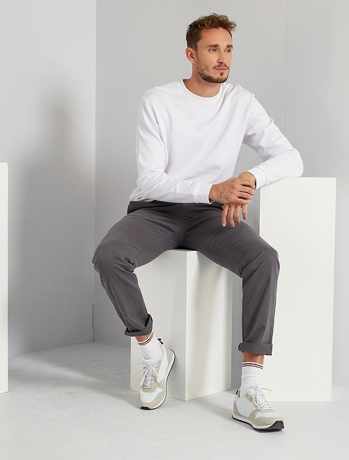 Sweat éco-conçu +1m90                                                     blanc