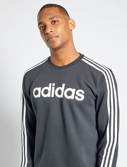 Sweat en molleton 'adidas'                             noir