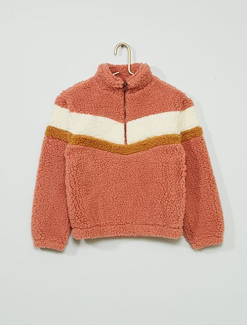 Sweat en sherpa                                         rose