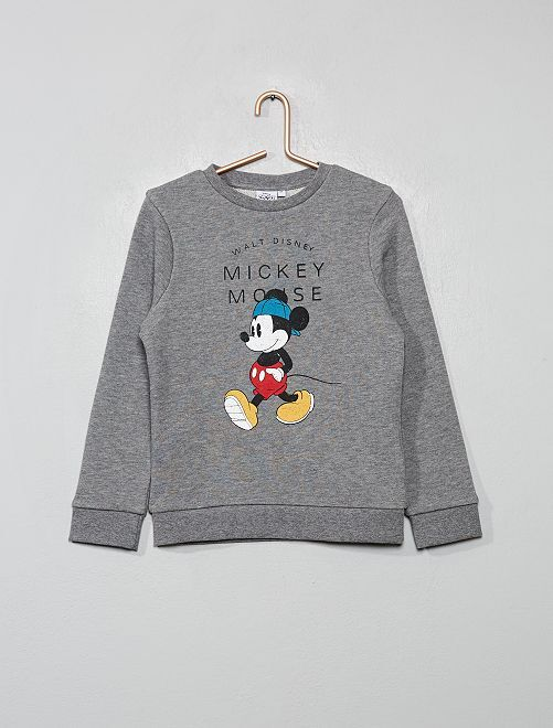 Sweat 'Mickey Mouse'                             gris