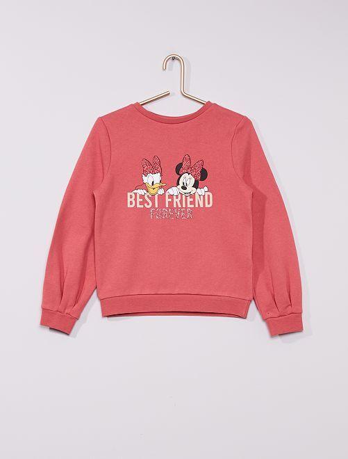 Sweat 'Minnie et Daisy' de 'Disney'                                 rose