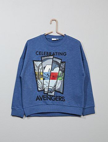 Sweat molletonné 'Avengers' - Kiabi