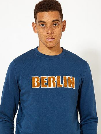 Sweat molletonné 'Berlin'