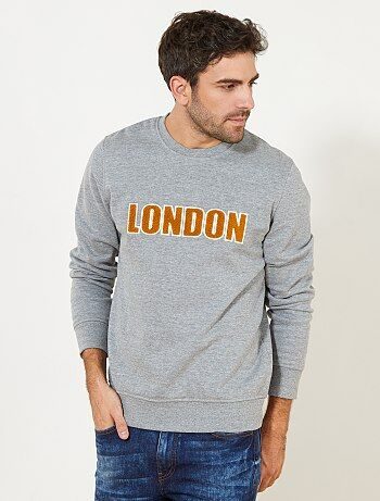 Sweat molletonné 'London' - Kiabi