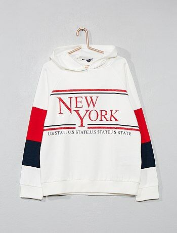 Sweat molletonné `New York`