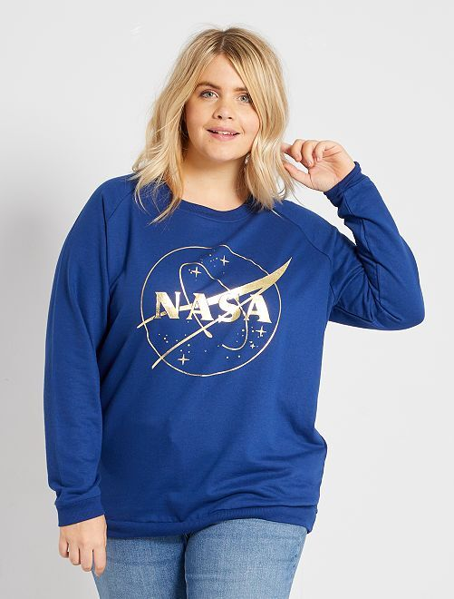 Sweat 'NASA'                             bleu