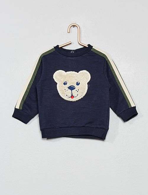Sweat 'ourson'                                         bleu marine