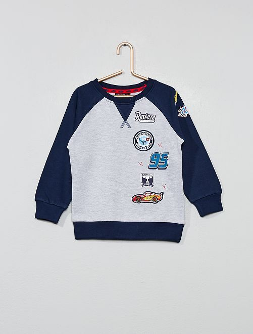 Sweat patchs 'Cars'                                         gris