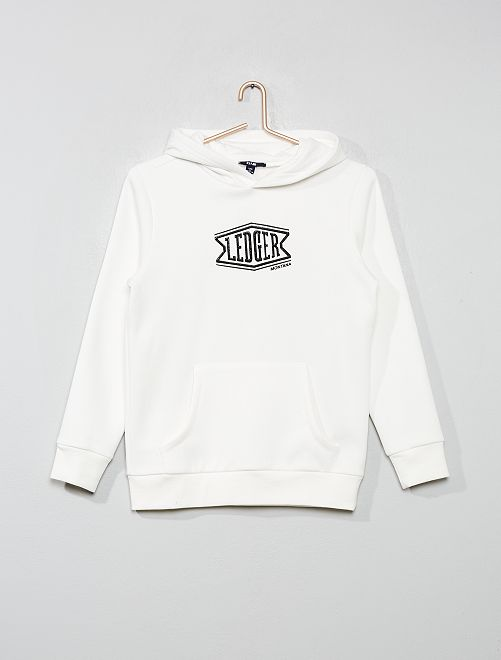 Sweat print relief                                         blanc