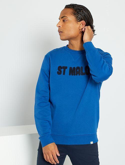 Sweat 'St Malo'                                                     BLEU