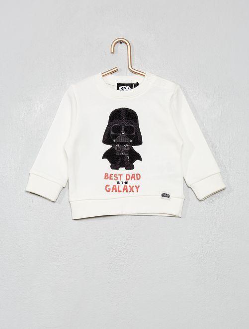 Sweat 'Star Wars'                             blanc cassé
