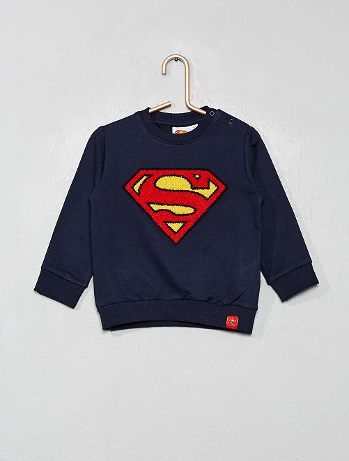 Sweat 'Superman'                             bleu