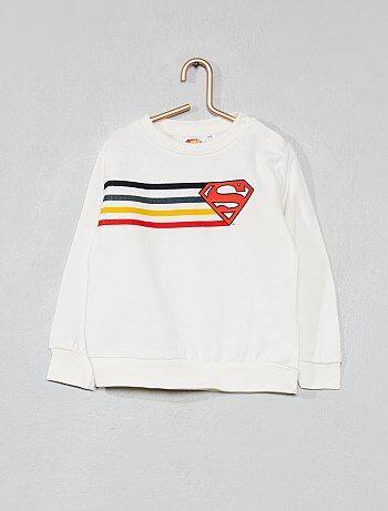 Sweat `Superman` molletonné