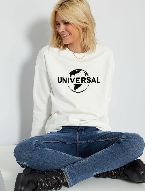 Sweat 'Universal'                             blanc