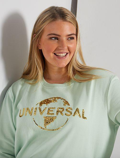 Sweat 'Universal'                             vert d'eau