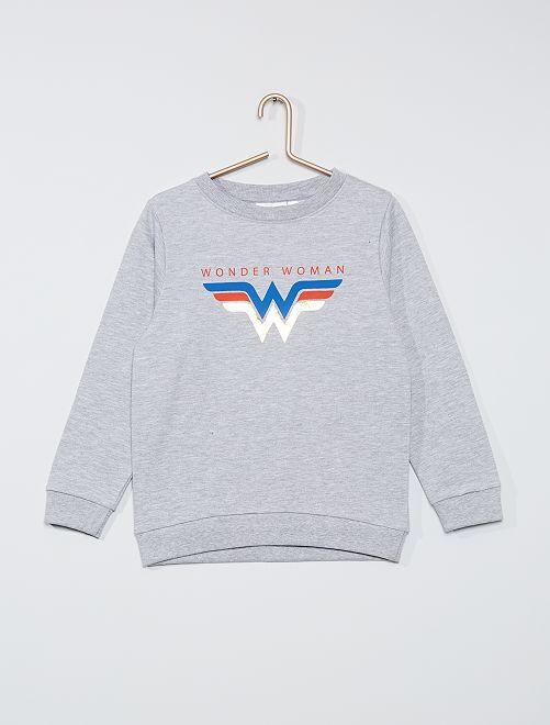 Sweat 'Wonder Woman'                             gris