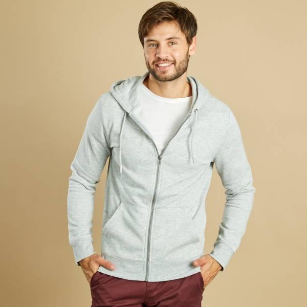détaillant en ligne nouveau produit coupe classique Sweat zippé à capuche