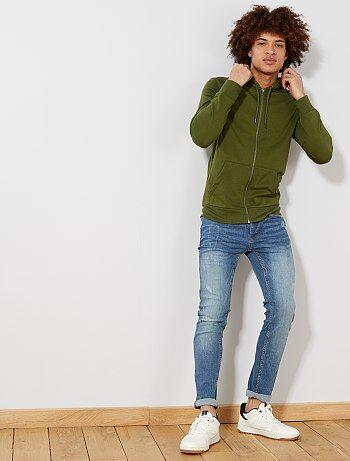 741d1438e22d5 Soldes sweat zippé pour homme, veste sport - mode homme Vêtements ...