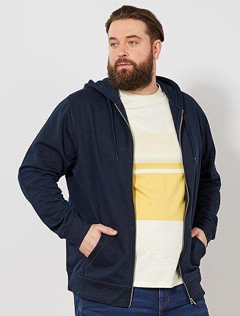 e793a6bd2b517 Soldes sweat zippé pour homme, veste sport - mode homme Vêtements ...