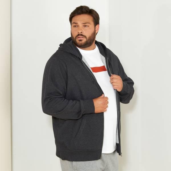 où acheter qualité fiable esthétique de luxe Sweat zippé à capuche molleton léger