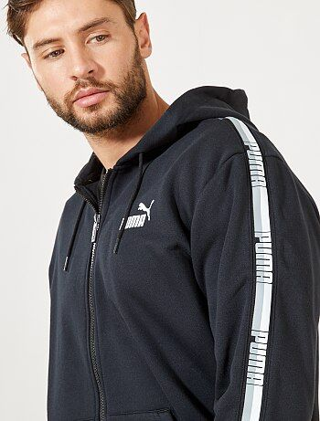 Sweat zippé à capuche 'Puma'