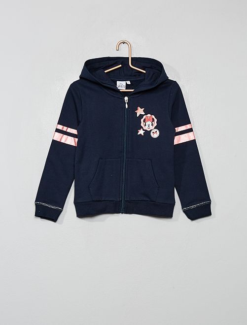 Sweat zippé 'Minnie'                                         bleu marine