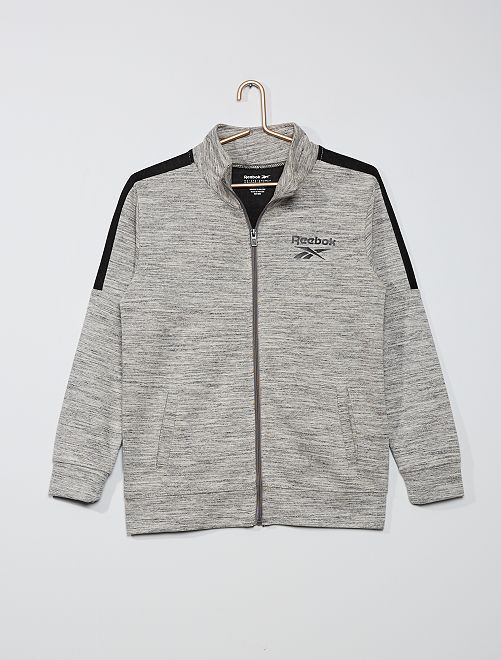 Sweat zippé 'Reebok'                             gris