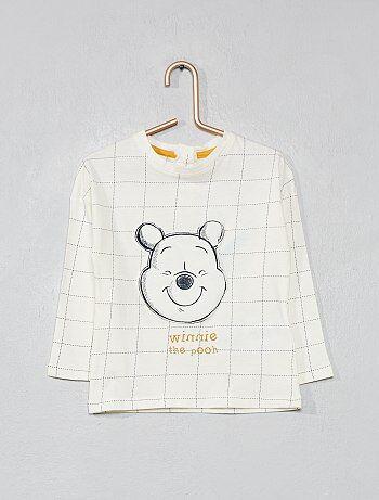 T shirt à carreaux `Winnie l`ourson`