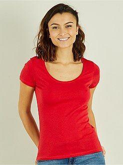 T-shirt, débardeur taille s - T-shirt à manches courtes - Kiabi
