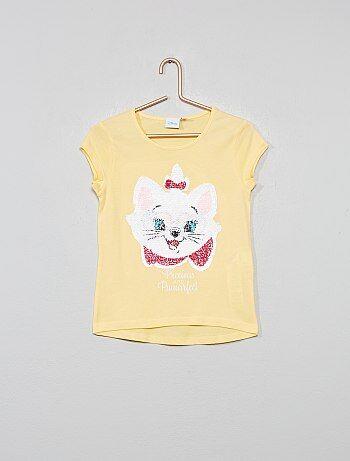 T-shirt à sequins réversibles 'Disney'