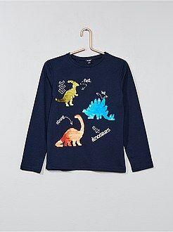 T-shirt à sequins réversibles - Kiabi