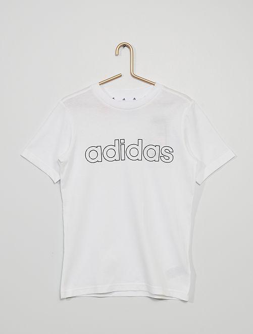 T-shirt 'adidas'                             blanc