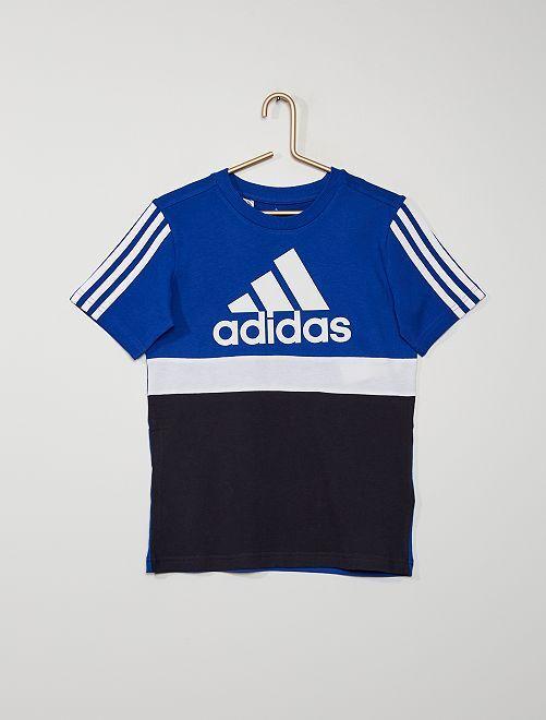 T-shirt 'adidas' color block                             bleu