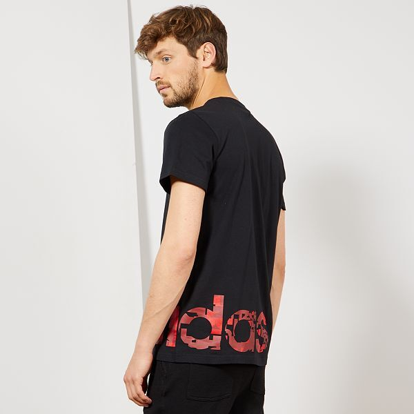 tee shirt homme adidas noir