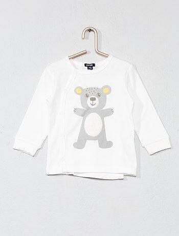 T-shirt animation ourson - Kiabi