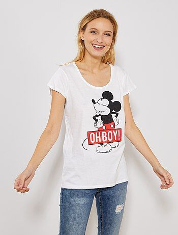 T shirt animé `Mickey`