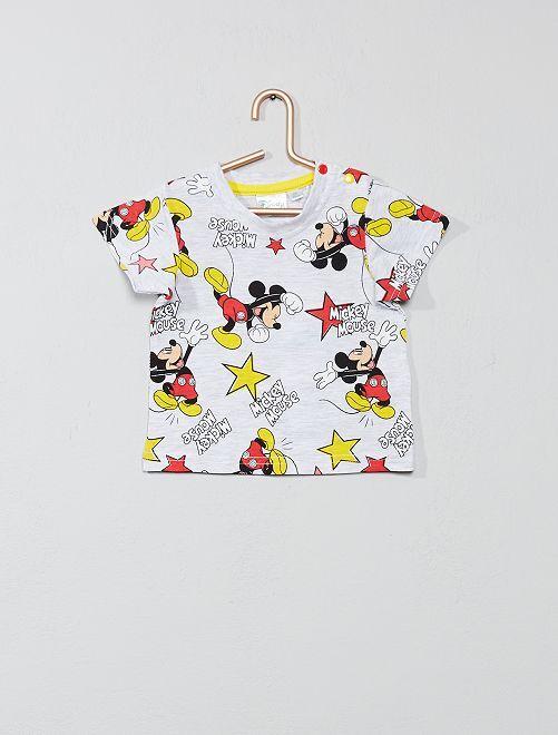 T-shirt animé 'Mickey'                                                     gris Bébé garçon