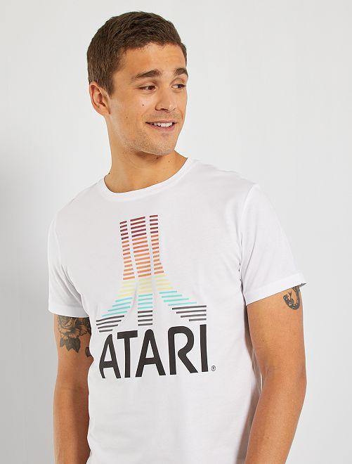 T-shirt 'Atari'                                                     blanc